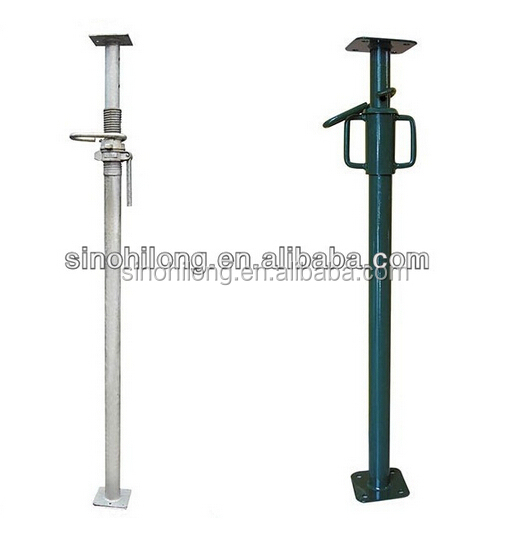 construction scaffold shoring prop/ steel pole support for sale