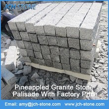 Bulk wholesale square natural granite decorative outdoor stone wall tiles