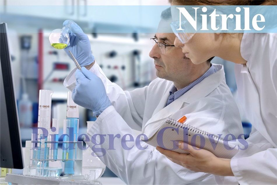 nitrile gloves medical nitrile dipped glove powder free