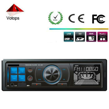 fix panel,car mp3 player with FM transmitter