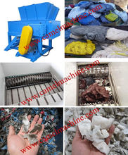 Wood pallet shredder for sale/ industrial cardboard shredder / single shaft plastic shredder machine