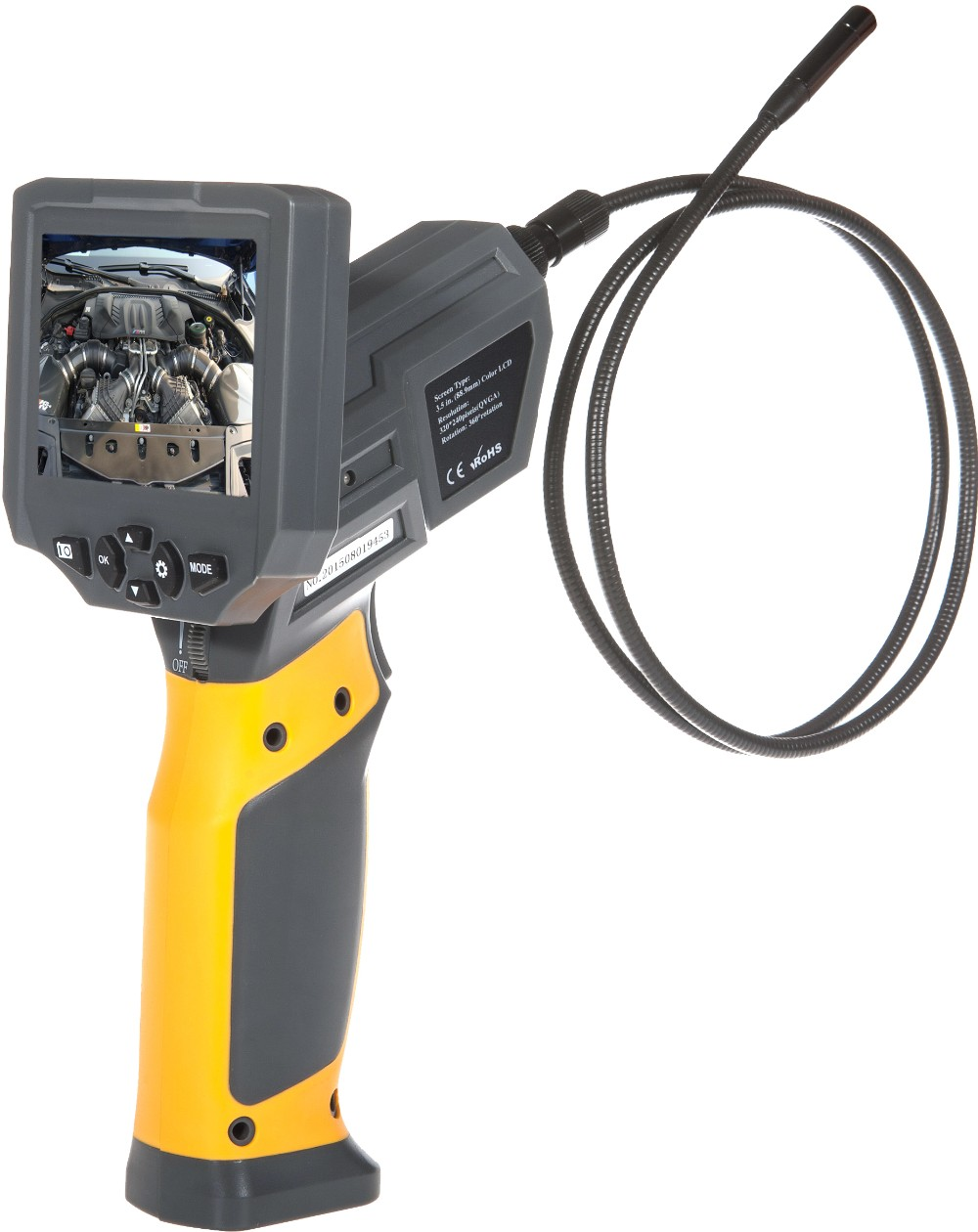 High quality HT-660 Digital Portable Video Borescope inspection snake camera industrial used