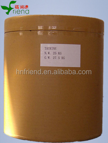 High purity bulk amino acids taurine/energy drink/taurine powder