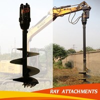 ground hole drilling machines/hydraulic earth auger earth drilling motor