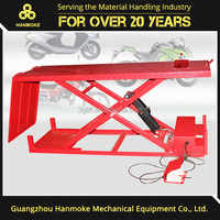 Chinese supplier motorcycle lift stand hydraulic manual lift table repair tools