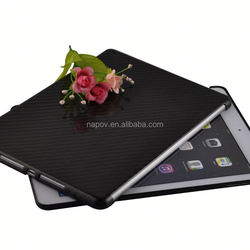 New Arrival Factory Price for iPad air2 Case in Wholesale, Cool Carbon Fiber Cover for iPad air2