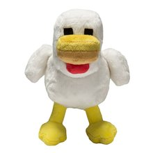 "Low-MOQ /stock video game kid toy collection- 7.5"" chicken stuffed <strong>animal</strong>"