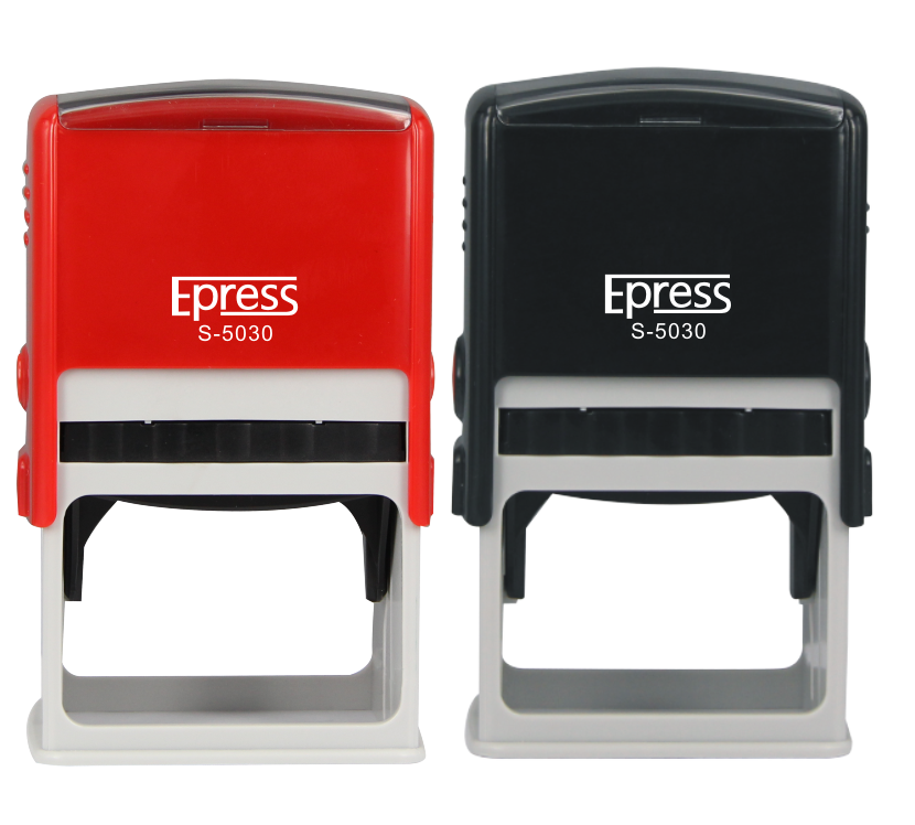 Plastic Self inking Stamp machine to make rubber stamp
