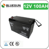 ISO CE UL deep cycle best quality high efficiency 12v 100ah lead acid battery