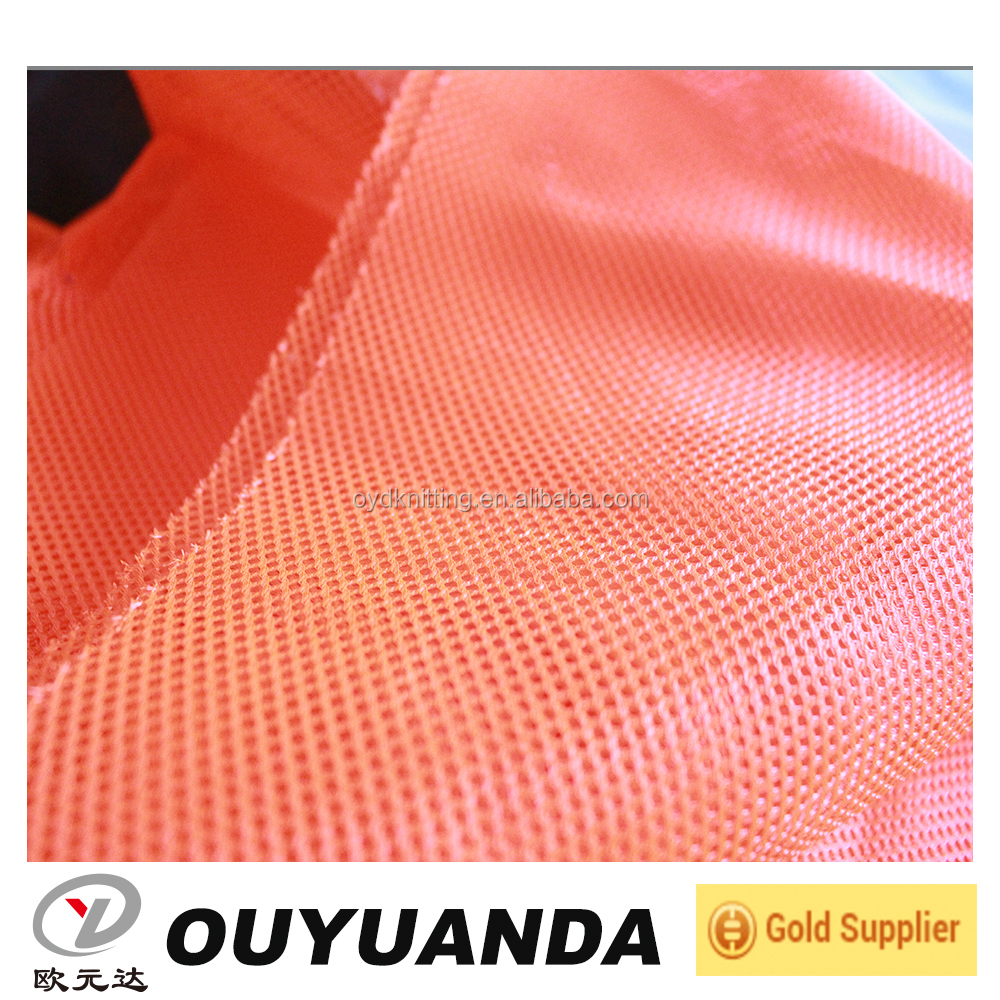 Manufacturer Textile Material Fabric Fluorescent Mesh Fabric for Clothing