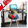 knocked down modern office table photos / computer desk / metal frame office computer table with drawers