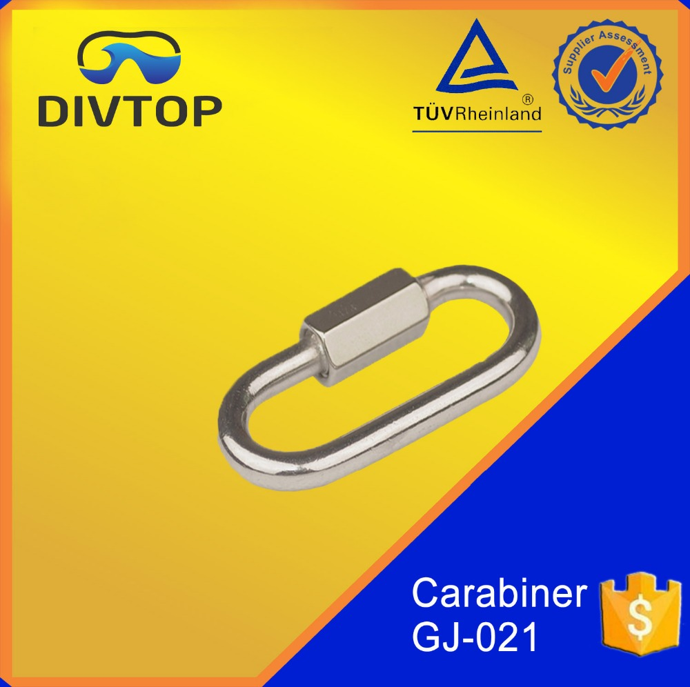 Wholesale Colorful Aliminium Heavy Duty Carabiner Clips