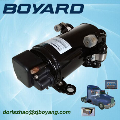 zhejiang boyard <strong>r134a</strong> 12v <strong>24v</strong> brushless dc air conditioner <strong>compressor</strong> KFB135Z24 for 1.5 ton a/c