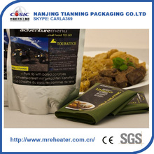the price of water reactive mre heater,easy to cook meal,plain water military mre heater pack for food heating