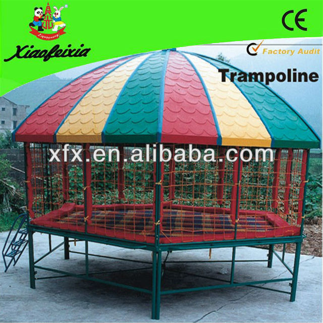 2013 hot sale Trampoline with canopy