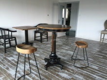 Industrial metal bar stools king bar stools wood chair with rush seat