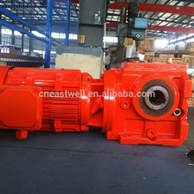 S series helical worm gear reducer motor