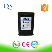 Compatible refill printer chip reset to full level ink cartridge for hp 678 802 61