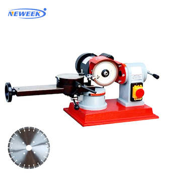 NEWEEK manual grinder hand circular saw blade sharpening machine
