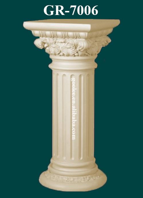 Stile europeo poliuretano decorativo colonne per case for Casa in stile europeo