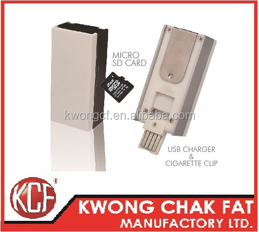 KCF-165 Rechargeable Electronic USB cigarette lighter usb flash drive