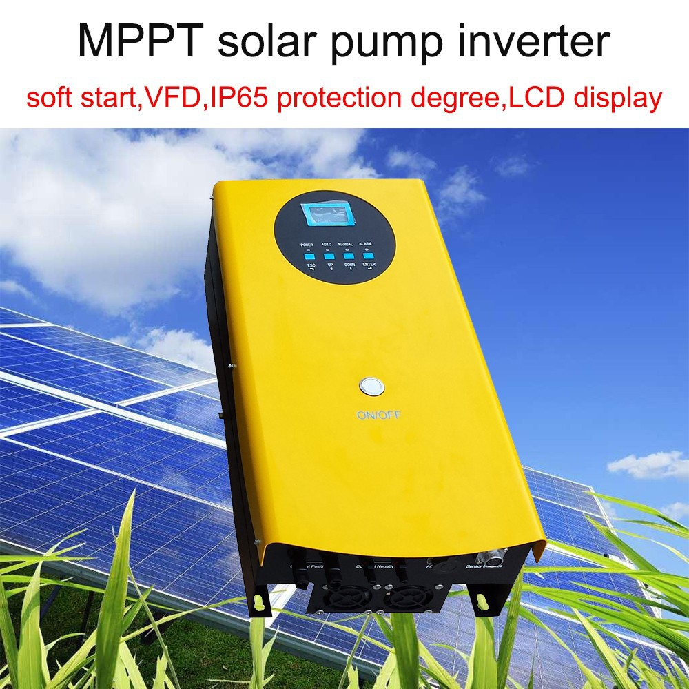 1.5kw 5.5kw 7.5kw 15kw 45kw 55kw 75kw solar inverter off grid solar water pump inverter solar lighting system