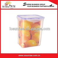 Cube Shape Plastic Lunch box Without Handle