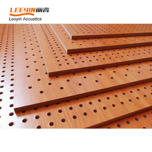 Sound Reflecting Wooden Perforated Acoustic Panel Ceiling Tiles