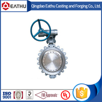 Good quality cast iron wafer butterfly valves