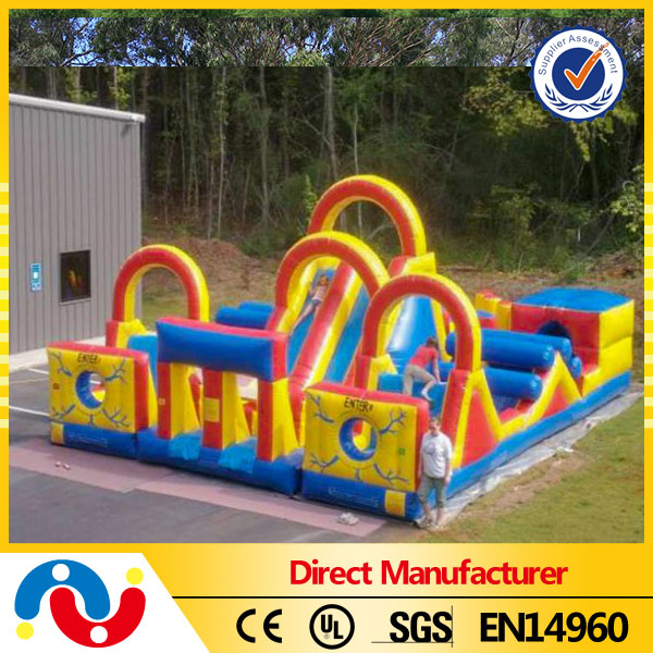 New inflatable water obstacle course for sale,hot inflatable paintball obstacle,obstacle course equipment