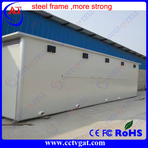 Favorable price report quality Liquid module Portable Toilet House Transportable Container for outdoor toilet