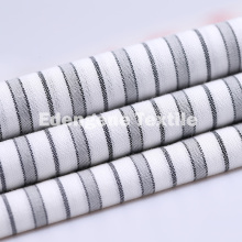 60 * 60 cotton yarn dyed stripe plain fabric woven fabric