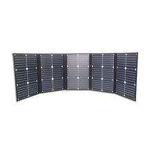 2017 Factory supply flexible sunpower photovoltaic folding 100w solar panel