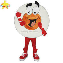 Funtoys CE Customized Promotional Television Puck Mascot Costume