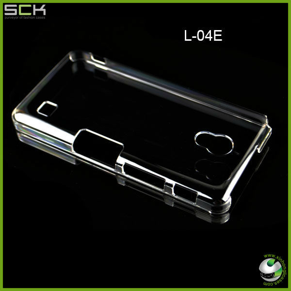 Raw pc hard Blank Clear PC Case For L-04E,LG Optimus G Pro ProLG Optimus GK Case Cover