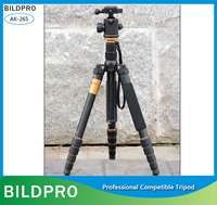 Video Tripod Professional Camera Tripod with Portable Monopod