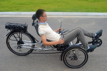Delta Recumbent Trike 3 Wheel Electric Recumbent Trike