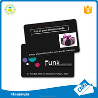 Economic and waterproof pvc business card