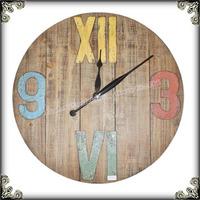 Large wall wooden clock kits original wall clock