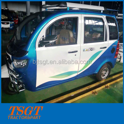come from China cheapest price gasoline tricycle with cabin for passenger taxi 150cc 175cc 200cc