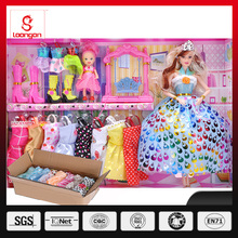 Loongon doll fashion dress up game for girls