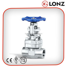 Stainless Steel Thread / Screwed End OS&Y Gate Valve PN16
