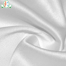 new collection strong stretch polyester dyed dull satin fabric