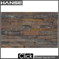 HS-MB009 600X150MM italian cheap ornament cultured broken stone