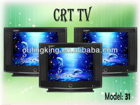 17inch normal flat crt color tv small size crt color tv with spare parts of crt tv