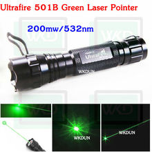 Hot sale green laser pointer Ultrafire wf-501b 532nm 200mw laser pointers for guns