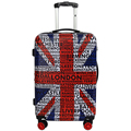 various bright colors trolley luggage suitcase case wheel bags