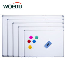 Office School Home Hanging Aluminium Frame Magnetic Dry Erase White Board