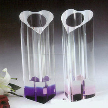 New Fashion Useful Crystal Flower Vase For Centerpieces Home Decor