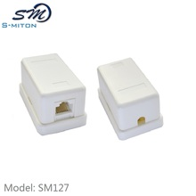 hot sale ABS Waterproof Junction Box,cat5e rj45 connection box